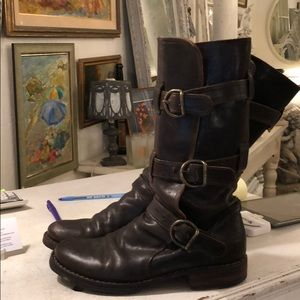Fiorentini and Baker 3 Buckle Boots